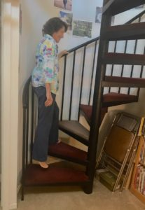 Shelah Climbing Stairs